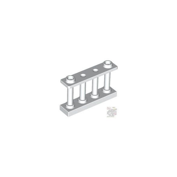 Lego Fence 1X4X2 W. 2 Knobs, White