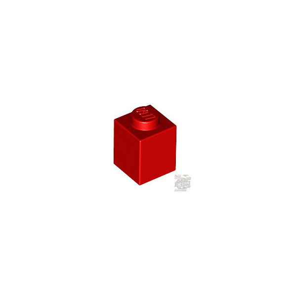 Lego BRICK 1X1, Bright red