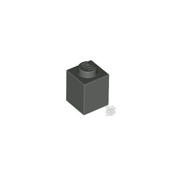 Lego Brick 1X1, Dark grey