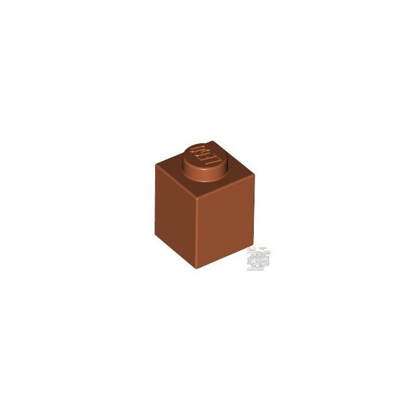 Lego Brick 1X1, Dark orange