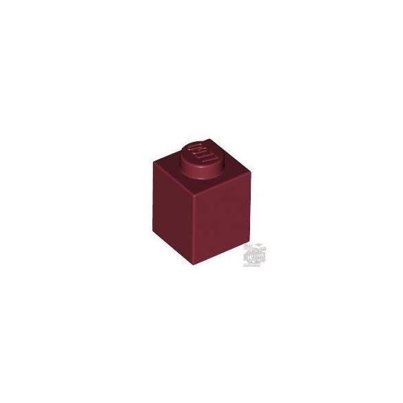 Lego Brick 1x1, Dark red