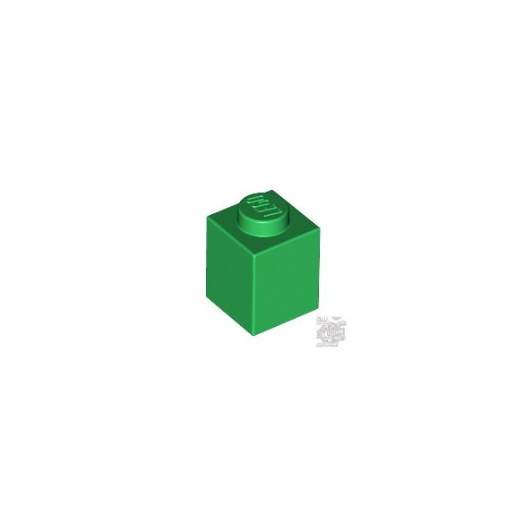 Lego BRICK 1X1, Green