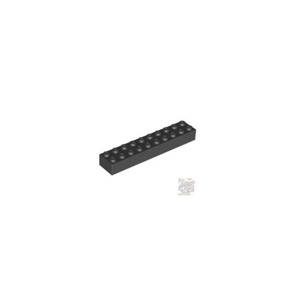 Lego Brick 2X10, Black