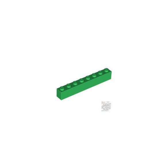 Lego BRICK 1X8, Green