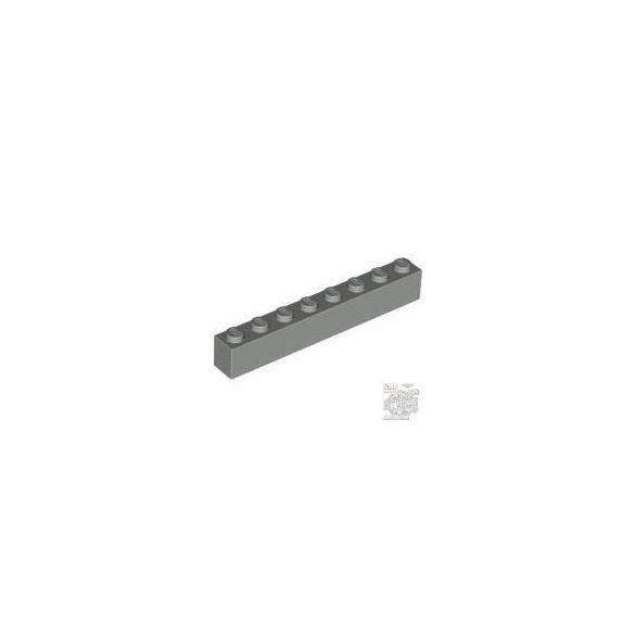 Lego Brick 1X8, Light grey