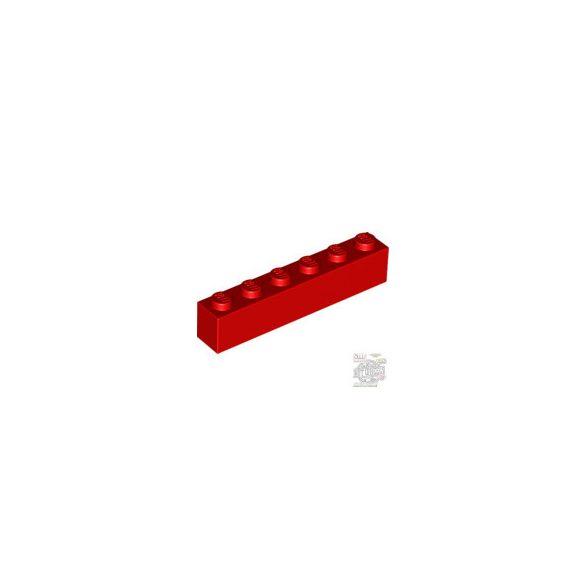 Lego BRICK 1X6, Bright red