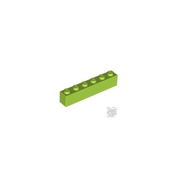 Lego BRICK 1X6, Bright yellowish green