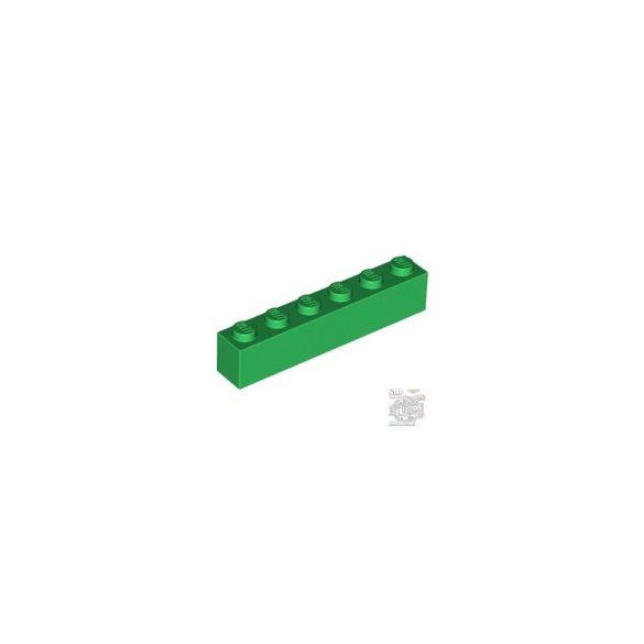 Lego BRICK 1X6, Green