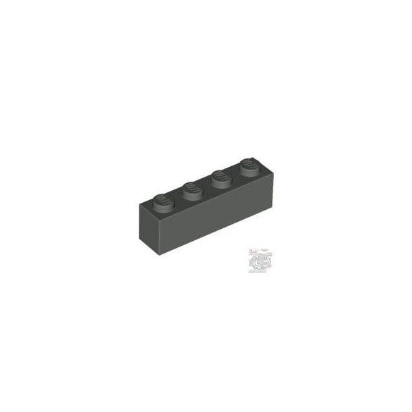 Lego Brick 1X4, Dark grey