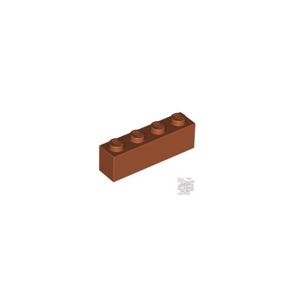 Lego BRICK 1X4, Dark orange