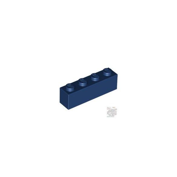 Lego BRICK 1X4, Earth blue