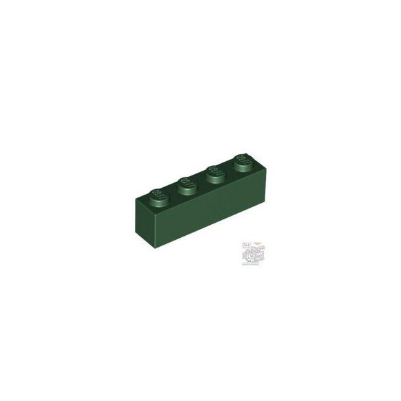 Lego BRICK 1X4, Earth green