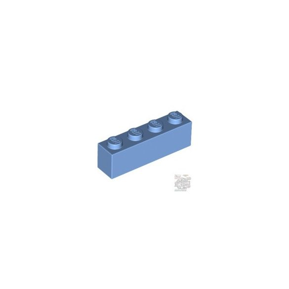 Lego BRICK 1X4, Medium blue