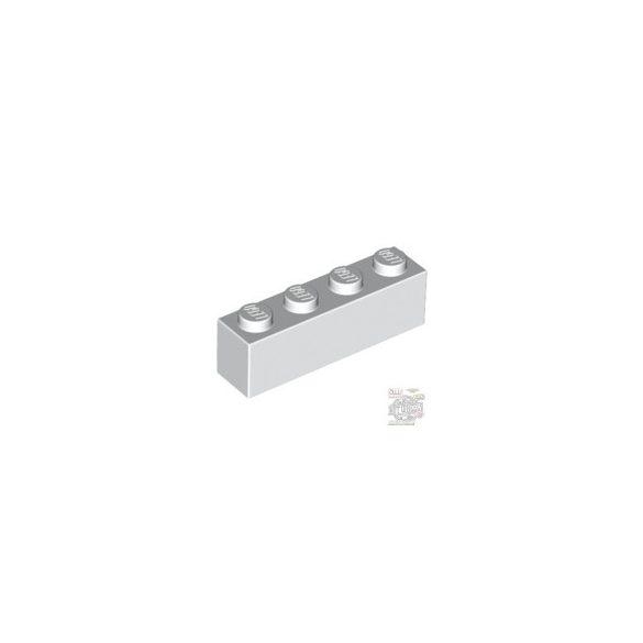 Lego Brick 1X4, White