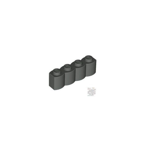 Lego Palisade Brick 1X4, Dark grey