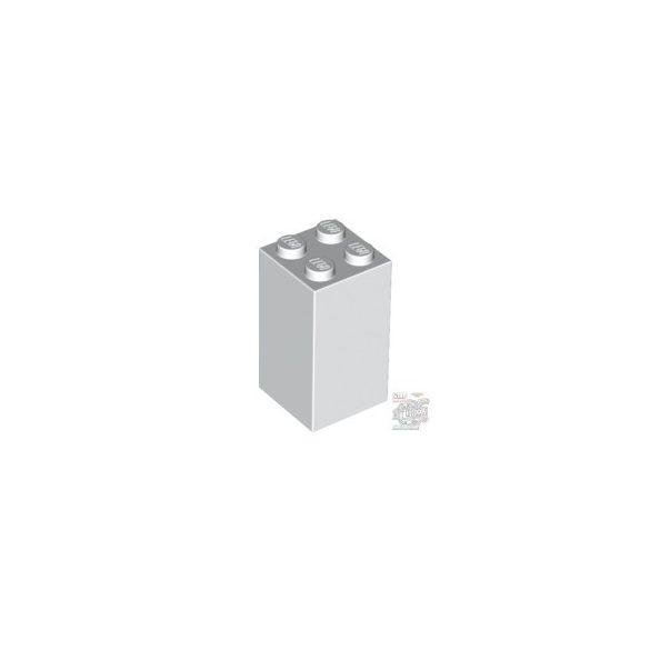 Lego Brick 2X2x3, White
