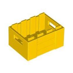 Lego BOX 3X4, Bright yellow