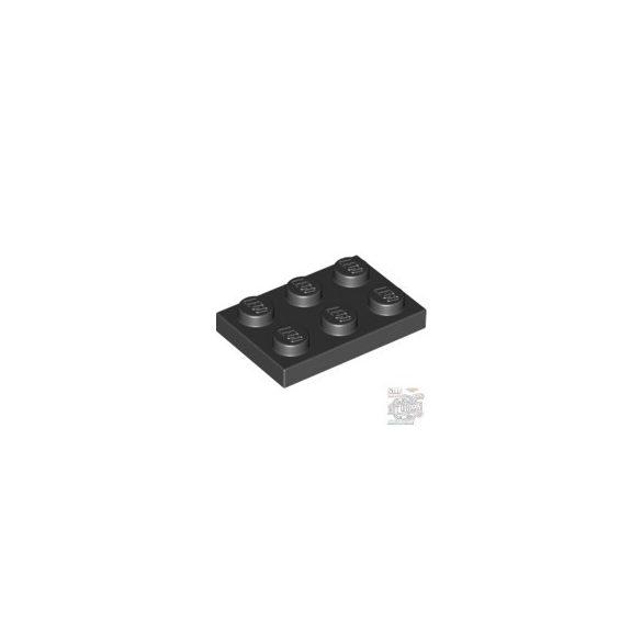 Lego Plate 2x3, Black