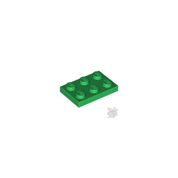Lego Plate 2x3, Green