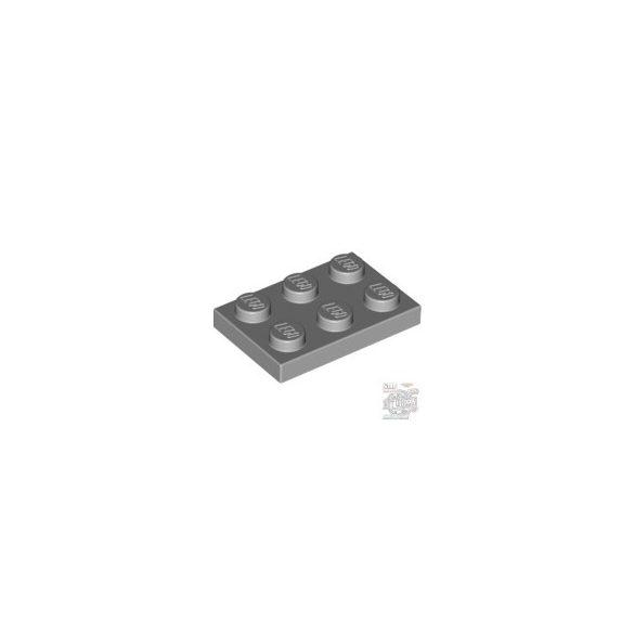 Lego Plate 2x3, Light grey