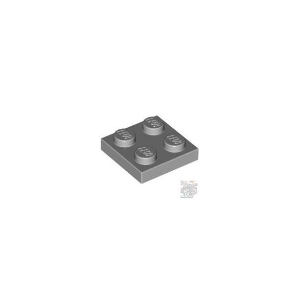 Lego Plate 2x2, Light grey