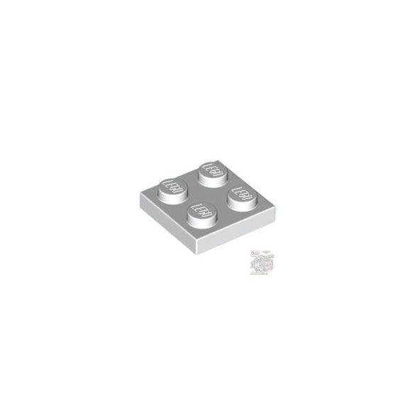 Lego Plate 2x2, White