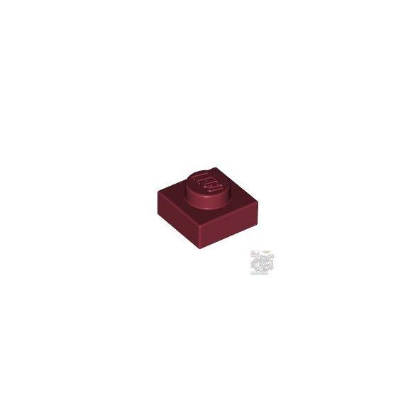 Lego PLATE 1X1, Dark red