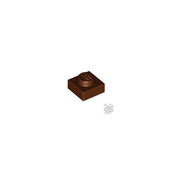 Lego Plate 1X1, Reddish brown