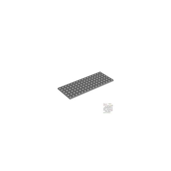 Lego Plate 6X16, Light grey
