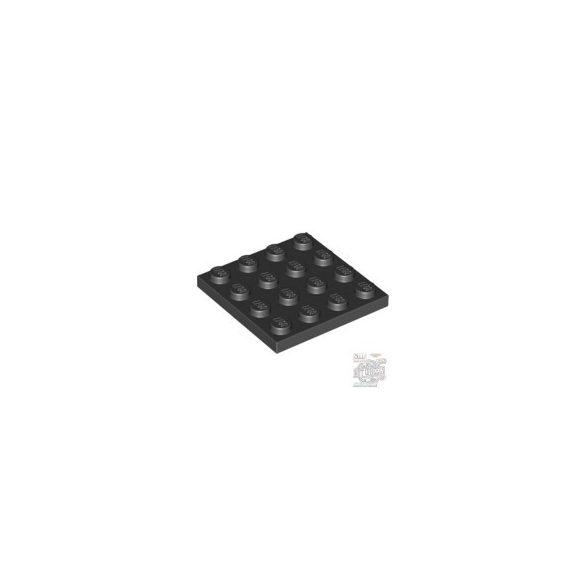 Lego Plate 4X4, Black