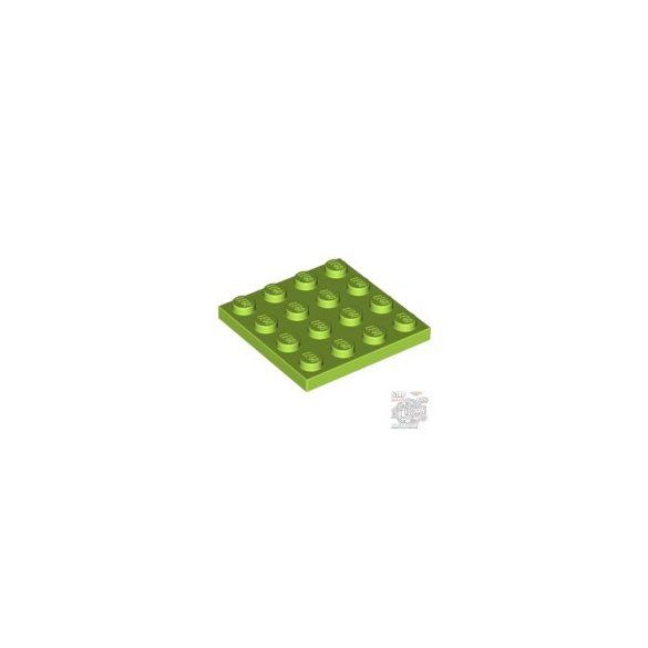 Lego Plate 4X4, Bright yellowish green