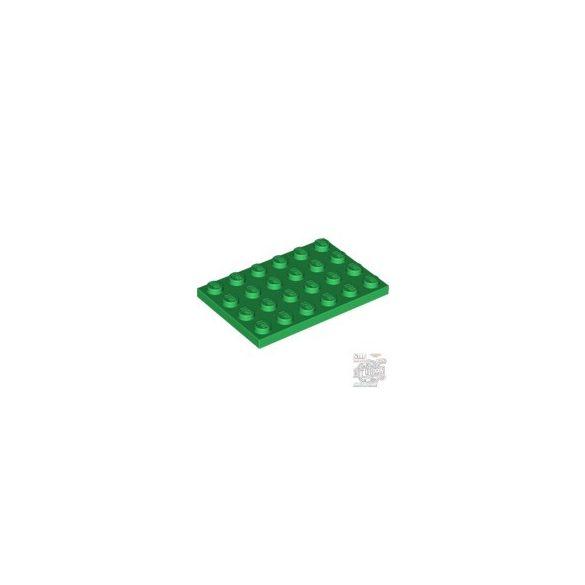 Lego Plate 4X6, Green