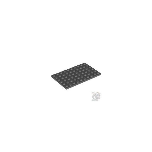 Lego Plate 6X10, Dark grey