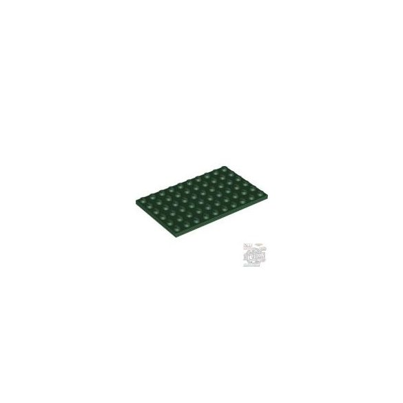 Lego Plate 6X10, Earth green