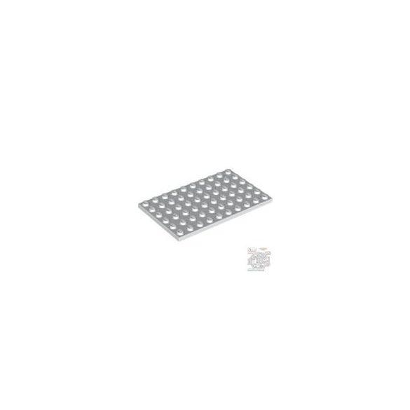 Lego Plate 6X10, White