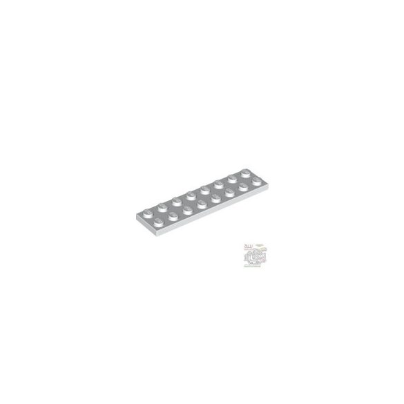 Lego Plate 2X8, White