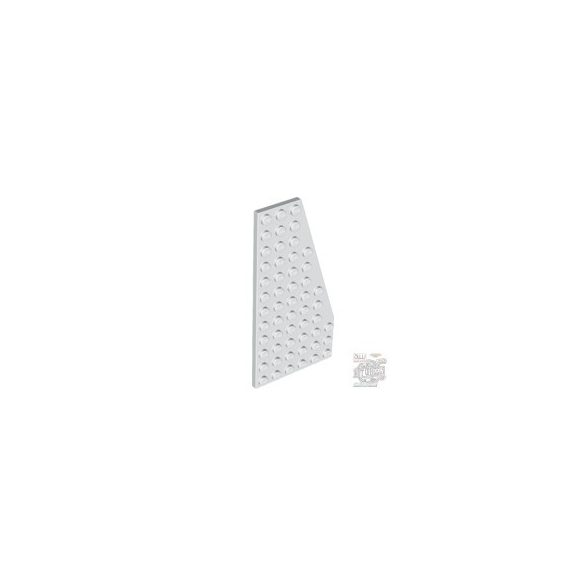 Lego Right Wing 6X12, White