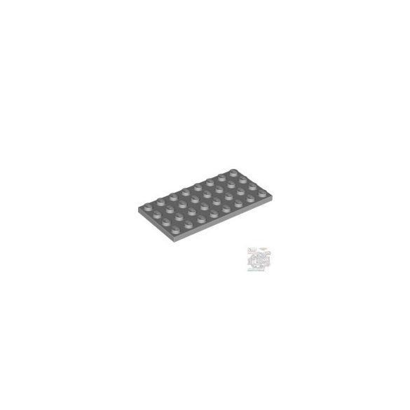Lego Plate 4X8, Light grey