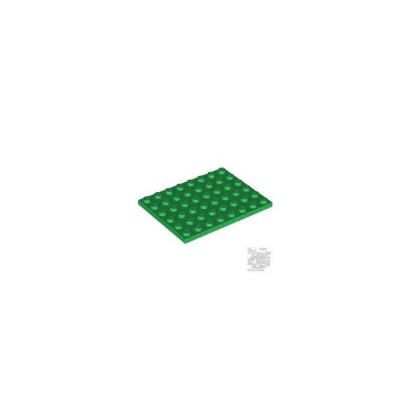 Lego Plate 6X8, Green