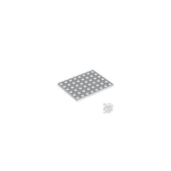 Lego Plate 6X8, White
