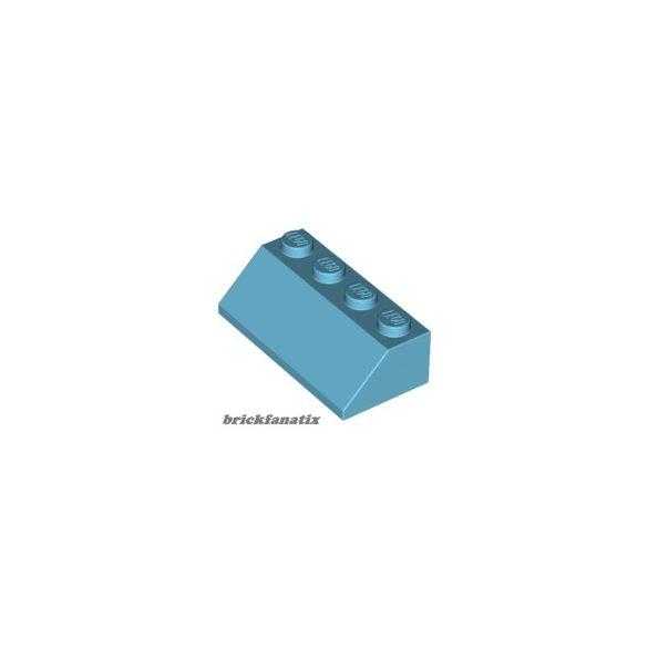 Lego ROOF TILE 2X4/45°, Medium azur