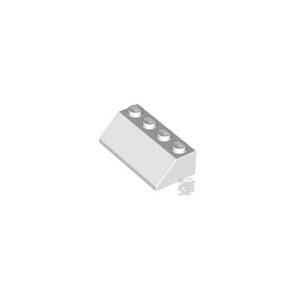 Lego ROOF TILE 2X4/45°, White