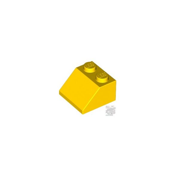 Lego ROOF TILE 2X2/45°, Bright yellow