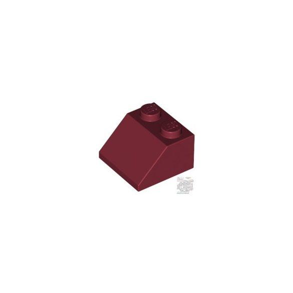 Lego ROOF TILE 2X2/45°, Dark red