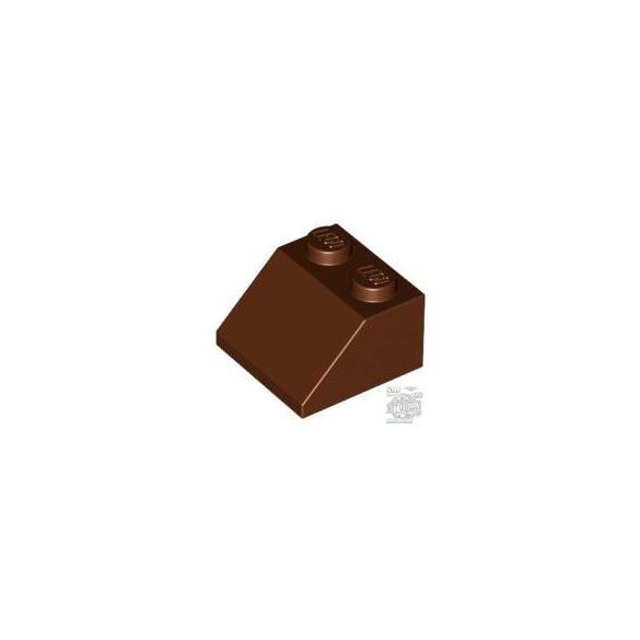 Lego ROOF TILE 2X2/45°, Reddish brown