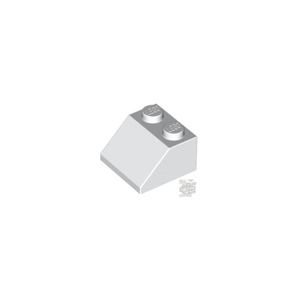 Lego ROOF TILE 2X2/45°, White