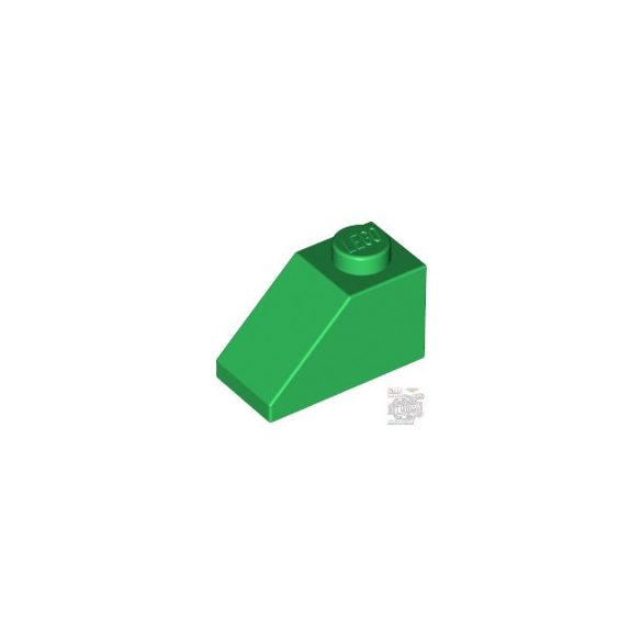 Lego ROOF TILE 1X2/45°, Green