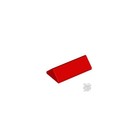 Lego RIDGED TILE 2X4/45°, Bright red