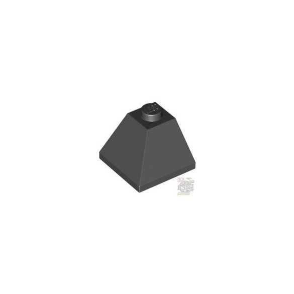 Lego CORNER BRICK 2X2/45° OUTSIDE, Black