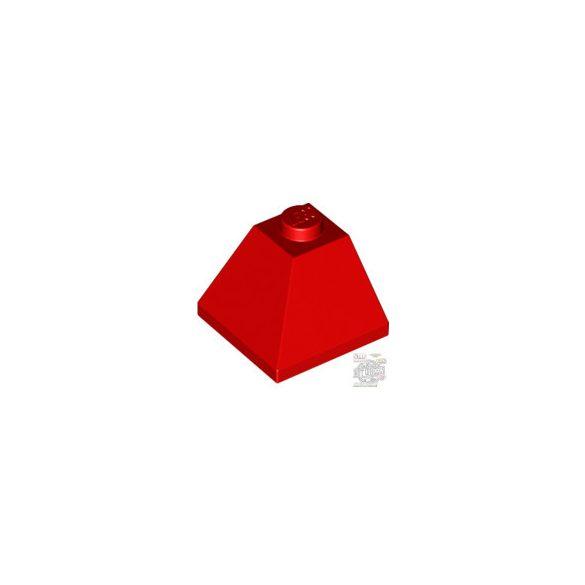 Lego CORNER BRICK 2X2/45° OUTSIDE, Bright red